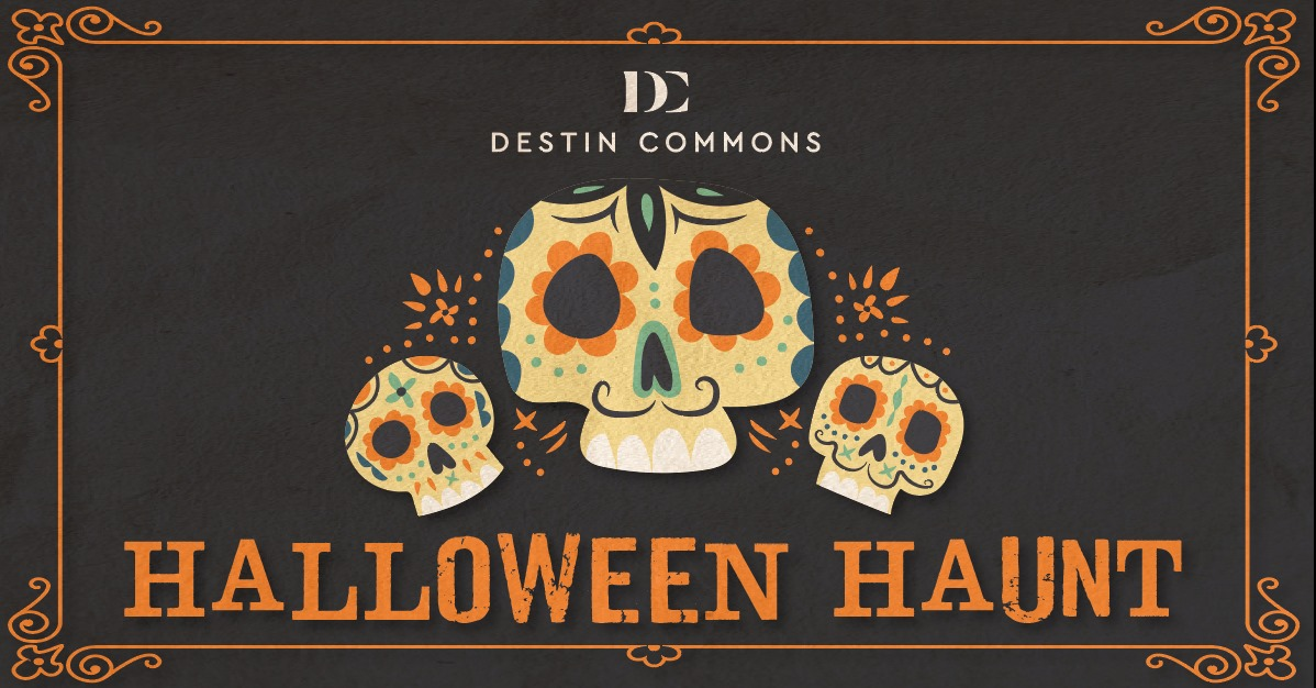 Destin Commons Halloween 2020 Annual Halloween Haunt Tradition Continues at Destin Commons